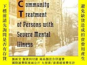 二手書博民逛書店Assertive罕見Community Treatment Of Persons With Severe Men