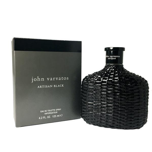 John Varvatos Artisan BLACK 黑工匠藤編限量版男性淡香水 125ml【UR8D】
