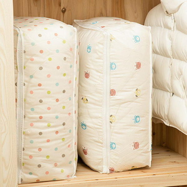 【DF310B】棉被儲存袋(卡通款)-小 PEVA 棉被收納袋 防塵套 防潮收納 EZGO商城
