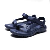 TEVA 男 深藍防水黏帶膠鞋 涼鞋 拖鞋 男 (布魯克林) TV1100270ECL