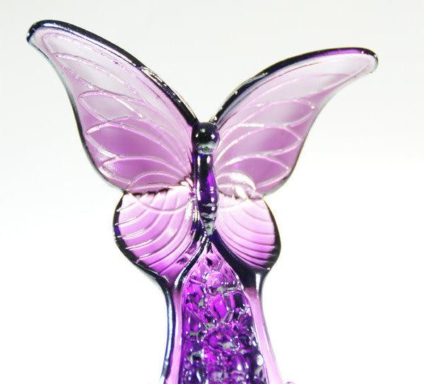 琉璃獎牌擺飾 【 悠然暢寄 】附水晶座◆附古法製作珍藏保證卡◆免運費送到家