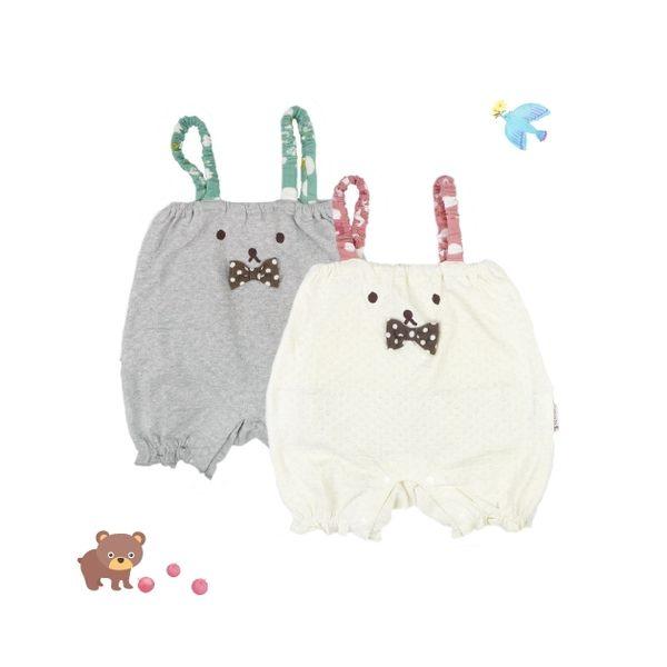 童裝/連身裝 小熊無袖連身裝-日本Milkiss