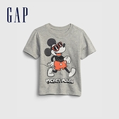Gap男幼童 Gap x Disney 迪士尼系列貼布T恤 959571-灰色