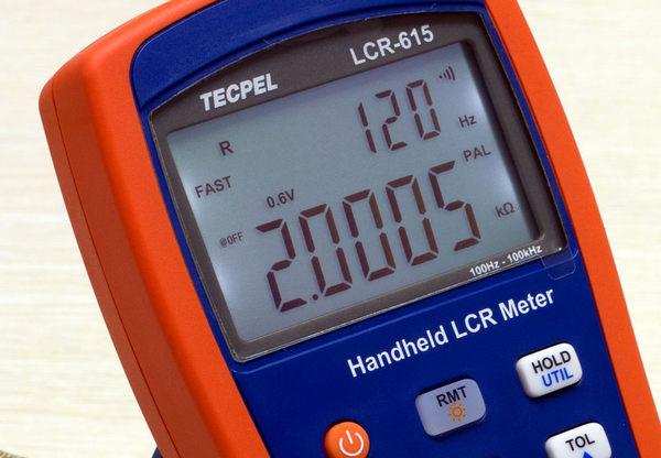TECPEL 泰菱》LCRMeter 100KHz 電阻 電感 電容測試儀 RLC LCR-615 TECPEL