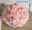 仿真新娘手捧花束婚禮拍攝道具【洛麗的雜貨鋪】