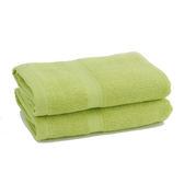 純棉飯店級毛巾-橄欖綠【愛買】