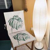 凳子套罩棉麻防滑椅套風餐桌餐廳【極簡生活館】