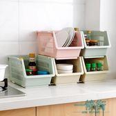 【年終】全館大促廚房用品蔬菜收納筐菜籃子塑料瀝水碗架盤子架子調料收納架置物架
