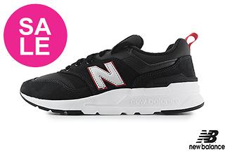 【出清下殺】New Balance 997 成人男女款 情侶鞋 運動鞋 經典復刻 輕量 慢跑鞋 O8541#黑色◆奧森