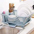 餐具架 家用瀝水碗架碗筷餐具收納架廚房用品大號落地碗碟滴水置物架【快速出貨八折搶購】