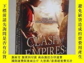 二手書博民逛書店Clash罕見of Empires:the great sieg