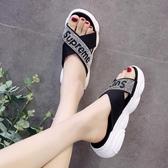 拖鞋女外穿款人字時尚涼拖鞋