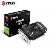 微星MSI GTX1050Ti AERO 4G OC PCI-E 顯示卡