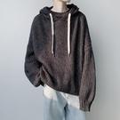 氣質寬鬆男生針織衫 長袖男生韓版毛衣 男士毛衣時尚加厚上衣 潮流男裝個性秋冬保暖打底衫