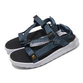 New Balance 涼拖鞋 SDL850 藍 灰 男鞋 女鞋 綁帶 夏日拖鞋 情侶款 涼鞋 【ACS】 SDL850SBD