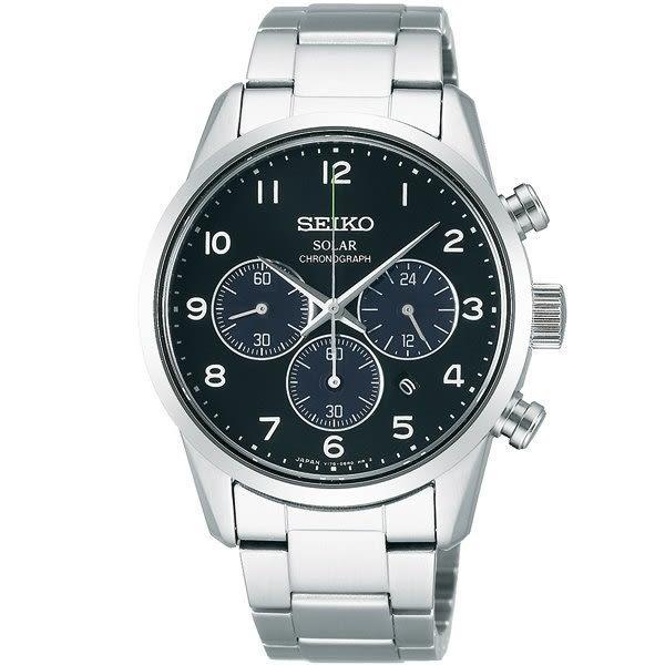 【時間光廊】SEIKO 精工錶 SPIRIT 日製 三眼錶 藍寶石水晶鏡面 光動能 全新原廠公司貨 SBPY137J