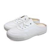KANGOL 休閒鞋 前包後空 女鞋 白色 6022200300 no066