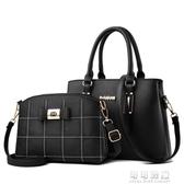 包包女大容量百搭斜背包時尚單肩手提包中老年媽媽包 交換禮物