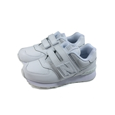 New Balance 574系列 運動鞋 跑鞋 魔鬼氈 白色 童鞋 YV574ERM-W no917