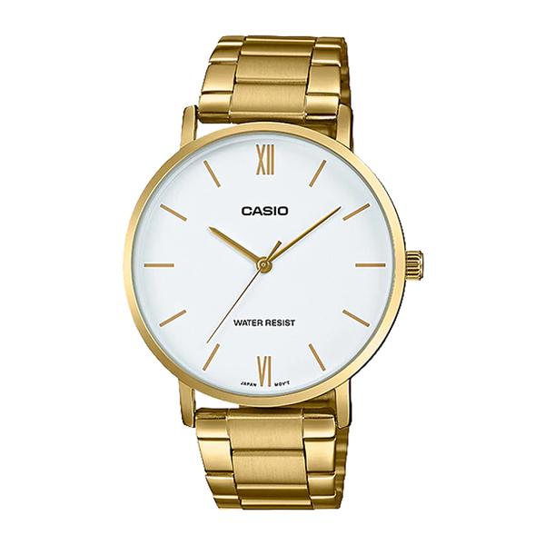 CASIO 手錶專賣店卡西歐 MTP-VT01G-7B CASIO 指針男錶 不鏽鋼錶帶 生活日常防水