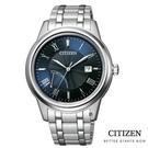 CITIZEN 星辰 光動能商務 手錶(AW7001-98L)藍/41.3mm