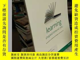 二手書博民逛書店learning罕見shaped around youY2143
