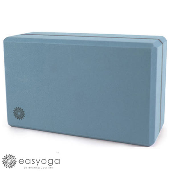 easyoga 瑜珈墊 高優質瑜珈磚 50D - 藍色