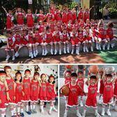 夏季兒童籃球服套裝男女童寶寶幼兒園六一錶演服中小學生訓練球衣  野外之家igo