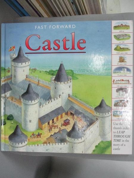 【書寶二手書T7/少年童書_HMZ】Castle (Fast Forward Books)_Peter Dennis