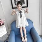 女童洋裝夏裝新款網紅兒童夏季洋氣公主裙子蕾絲小女孩童裝 夏季新品