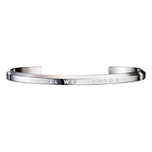 【Daniel Wellington】CLASSIC瑞典時尚品牌極簡典雅手環-極光銀S/DW00400004/原廠公司貨