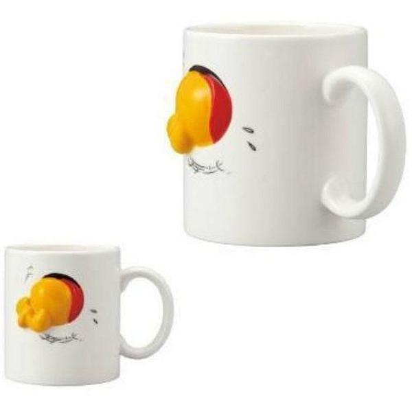 【震撼精品百貨】Winnie the Pooh 小熊維尼~小熊維尼 POOH 陶瓷馬克杯(造型浮雕)