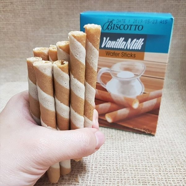好圈子香草牛奶捲心酥 500g(10盒/組)【2019070400022】(印尼零食)