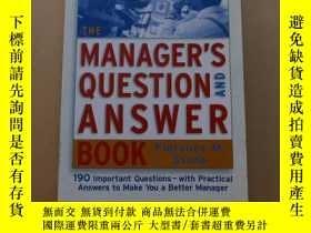 二手書博民逛書店The罕見Manager s Question and Answer BookY2931 Stone, Flo