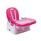 【佳兒園婦幼館】奇哥 攜帶式寶寶餐椅-玫瑰紅