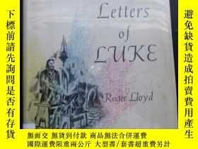 二手書博民逛書店The罕見private letters of lukej精裝原
