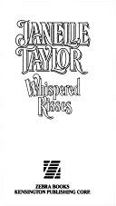 二手書博民逛書店 《Whispered Kisses》 R2Y ISBN:0821729128│Zebra