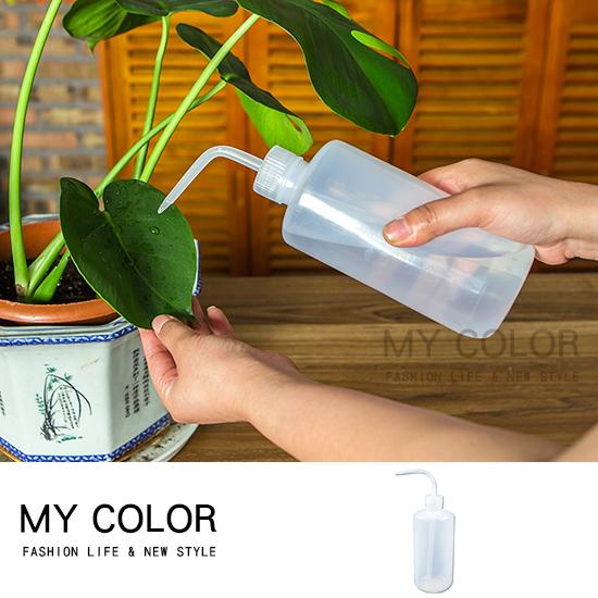 250ml 澆花器 噴壺 多肉植物 植栽 園藝 盆栽 補水器 花卉 擠壓式尖嘴澆水壺【N273】MY COLOR