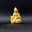 紅財神 2.6公分 佛像法像-金黃色