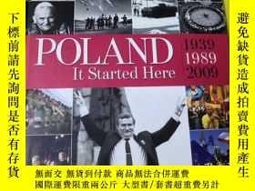 二手書博民逛書店Poland罕見it Started Here 1939-1989-2009 【英文原版書】Y9636 Po