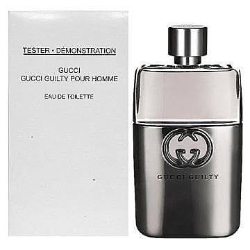 GUCCI GUILTY pour Homme 罪愛 男性淡香水90ml ( TESTER)【七三七香水精品坊】