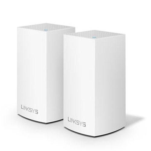 Linksys Velop AC2600 WiFi 雙頻 網狀路由器 2入組 WHW0102-AH 支援MU-MIMO技術 有線Gigabit乙太網路連接埠*2