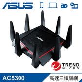 【ASUS 華碩】  RT-AC5300 三頻無線分享器 【贈必勝客披薩序號-12月中簡訊發送】