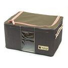 [AWANA]簡約摺疊衣物收納箱11公升(紫檀) (1入)