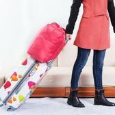 【優選】折疊式旅行收納包尼龍手提包行李袋