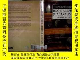 二手書博民逛書店FRANK罕見WOOD S BOOK-KEEPING&ACCOU