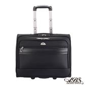 ABS愛貝斯 輕量時尚可登機 電腦拉桿商務箱(黑)26-040