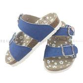 【KP】拖鞋 兒童 三麗鷗家族 HELLO KITTY 單寧 藍色 正版授權 DTT0514192