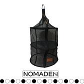 【NOMADE 三層碗籃《黑》】N4767/晾碗籃/快速乾燥/攜帶方便/露營/野外/戶外