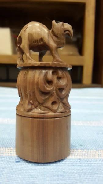 8號店鋪 早期進口正官庄 印度檀香 手工印章系列 '駱駝'